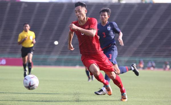 Hòa Thái Lan, U22 Việt Nam đi tiếp với vị trí nhất bảng