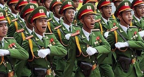 Hệ thống cấp bậc hàm sĩ quan, hạ sĩ quan, chiến sĩ CAND