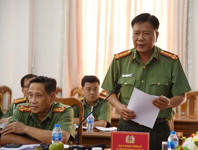 Bộ trưởng Tô Lâm kiểm tra công tác tại Công an tỉnh Cà Mau - Ảnh minh hoạ 4