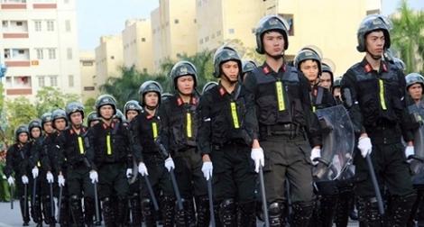 """Cảnh sát cơ động Việt Nam - """"Lá chắn thép"""" bảo vệ Đảng,  Nhà nước và Nhân dân"""