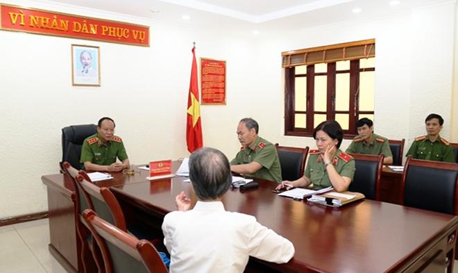 Lãnh đạo Bộ Công an tiếp công dân định kỳ tháng 4-2019