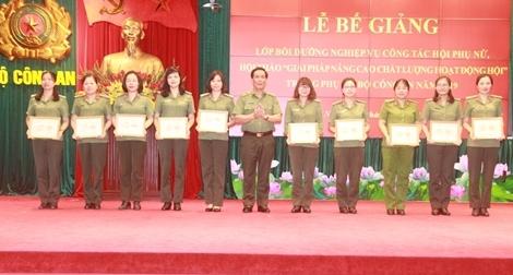 Nâng cao chất lượng hoạt động Hội Phụ nữ Bộ Công an