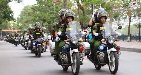 Công an Hải Phòng ra quân phòng chống tội phạm
