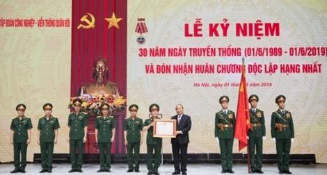 Viettel đón nhận Huân chương Độc lập hạng Nhất nhân kỷ niệm 30 năm ngày thành lập
