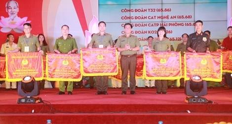Bế mạc Hội thi Công đoàn giỏi trong CAND, khu vực phía Bắc