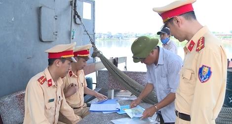 Chủ động đảm bảo an toàn giao thông đường thủy nội địa vào mùa mưa bão