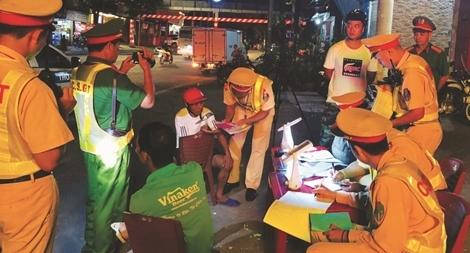 Tăng cường kiểm tra nồng độ cồn, phòng ngừa tai nạn giao thông