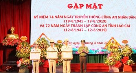 Công an tỉnh Lào Cai kỉ niệm 72 năm ngày thành lập