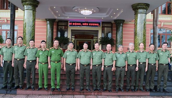 Thứ trưởng Bùi Văn Nam kiểm tra công tác tại Công an tỉnh Lai Châu - Ảnh minh hoạ 2