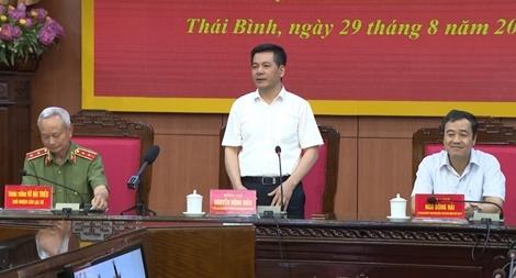 Gặp mặt CLB sĩ quan cấp tướng Công an nhân dân quê hương Thái Bình