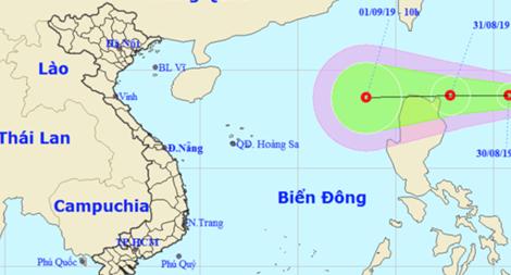 Lực lượng CAND ứng phó với diễn biến áp thấp nhiệt đới gần Biển Đông