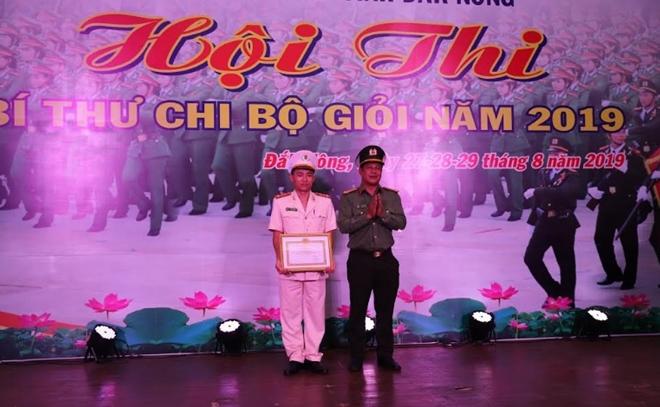 Bế mạc hội thi Bí thư chi bộ giỏi Công an tỉnh Đắk Nông