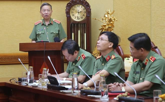 Đại tướng Tô Lâm: Cần khơi dậy mọi nguồn lực sáng tạo của các nghệ sĩ Công an