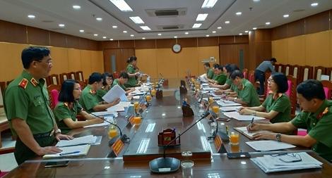 Kiểm tra công tác bình đẳng giới tại Công an TP Đà Nẵng và Bệnh viện 199