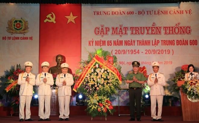 Trung đoàn 600 - Bộ Tư lệnh Cảnh vệ kỉ niệm 65 năm ngày thành lập - Ảnh minh hoạ 5