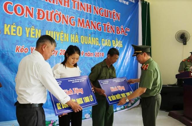 Cục Khoa học, Chiến lược và Lịch sử Công an hành trình tình nguyện tại Cao Bằng - Ảnh minh hoạ 2