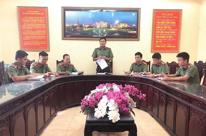 Phó trưởng Công an huyện luôn tận tụy với công việc