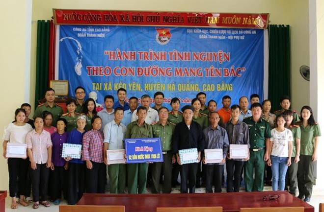 Cục Khoa học, Chiến lược và Lịch sử Công an hành trình tình nguyện tại Cao Bằng - Ảnh minh hoạ 3