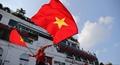 CĐV Việt Nam 'nhuộm đỏ' Thủ đô truyền lửa cho thày trò Park Hang-seo