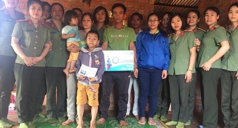 Hội Phụ nữ Công an tỉnh Đắk Nông với những hoạt động thiết thực