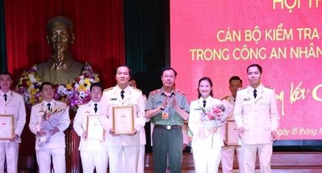 CA Hà Tĩnh đạt giải Nhất hội thi Cán bộ kiểm tra cơ sở giỏi trong CAND