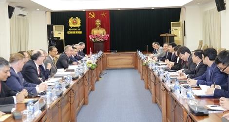 Bộ Công an ủng hộ quan hệ Việt Nam – Hoa Kỳ phát triển về thực chất