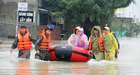 Lực lượng Công an chủ động triển khai ứng phó với áp thấp nhiệt đới, bão, mưa lũ