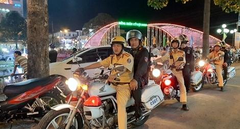 Bảo đảm an ninh trật tự cho Lễ hội Ooc-om-Boc - Đua ghe Ngo Sóc Trăng