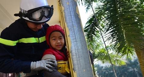 Tập huấn kỹ năng thoát hiểm, phòng chống cháy nổ cho thiếu nhi