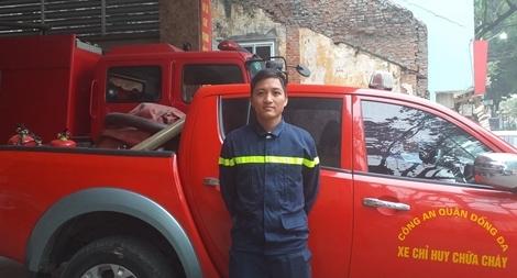 Người hùng cứu nạn trong vụ cháy ở phố Núi Trúc: Những chuyện chưa kể