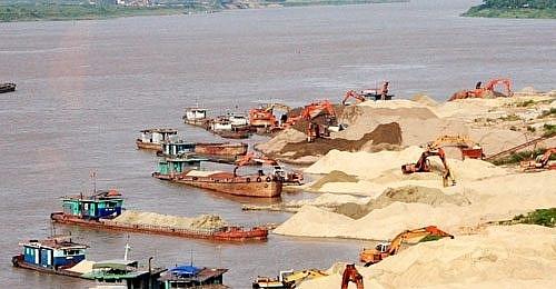 Từ ngày 10/4/2020, cấm khai thác cát sỏi tại khu vực có nguy cơ sạt lở