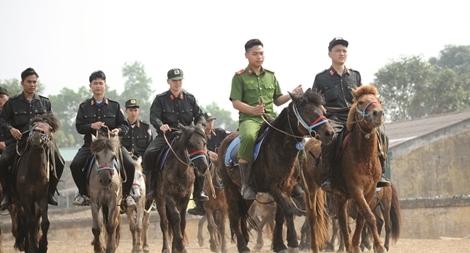 Chuyện chưa biết về  Đoàn Cảnh sát cơ động Kỵ binh1