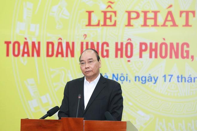 Thủ tướng kêu gọi toàn dân chung tay phòng, chống dịch COVID-19