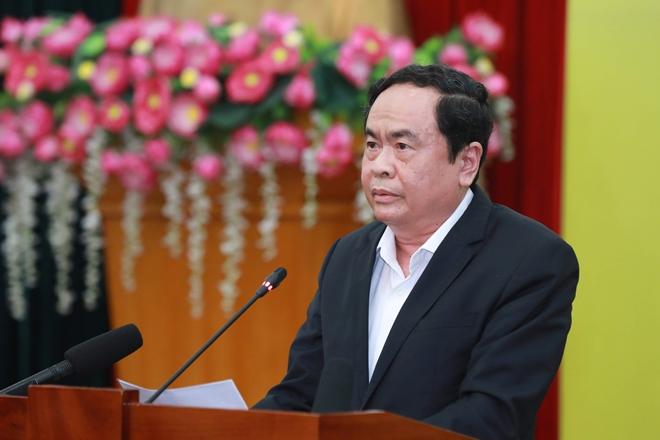 Đồng chí Trần Thanh Mẫn ra Lời kêu gọi toàn dân tham gia ủng hộ phòng chống dịch COVID-19.
