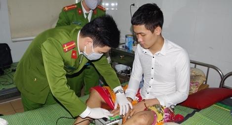 Đến tận giường bệnh cấp căn cước cho người dân bị tai nạn