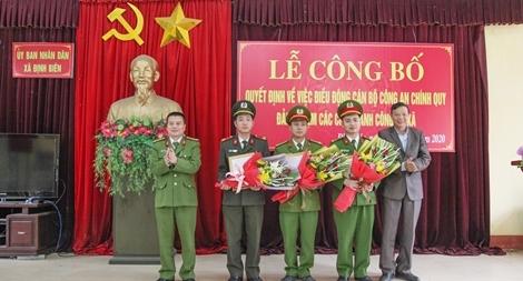 Thái Nguyên hoàn thành đề án bố trí công an chính quy về xã
