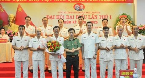 Đại hội Đảng bộ Công an cửa khẩu cảng hàng không quốc tế Cam Ranh