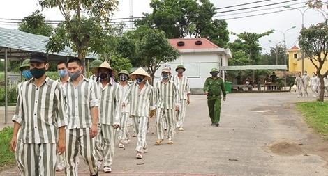 Phòng chống COVID-19 trong các cơ sở giam giữ