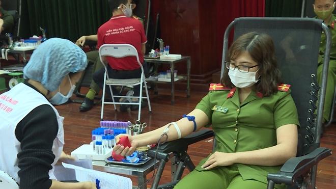 Công an tỉnh Phú Thọ tổ chức hiến máu tình nguyện - Ảnh minh hoạ 2