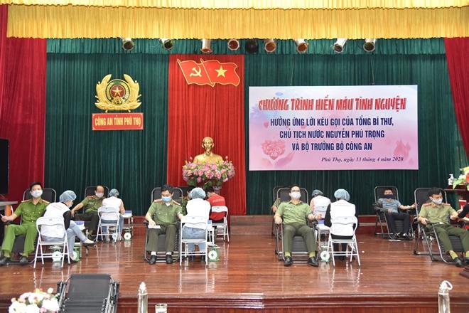 Công an tỉnh Phú Thọ tổ chức hiến máu tình nguyện - Ảnh minh hoạ 9