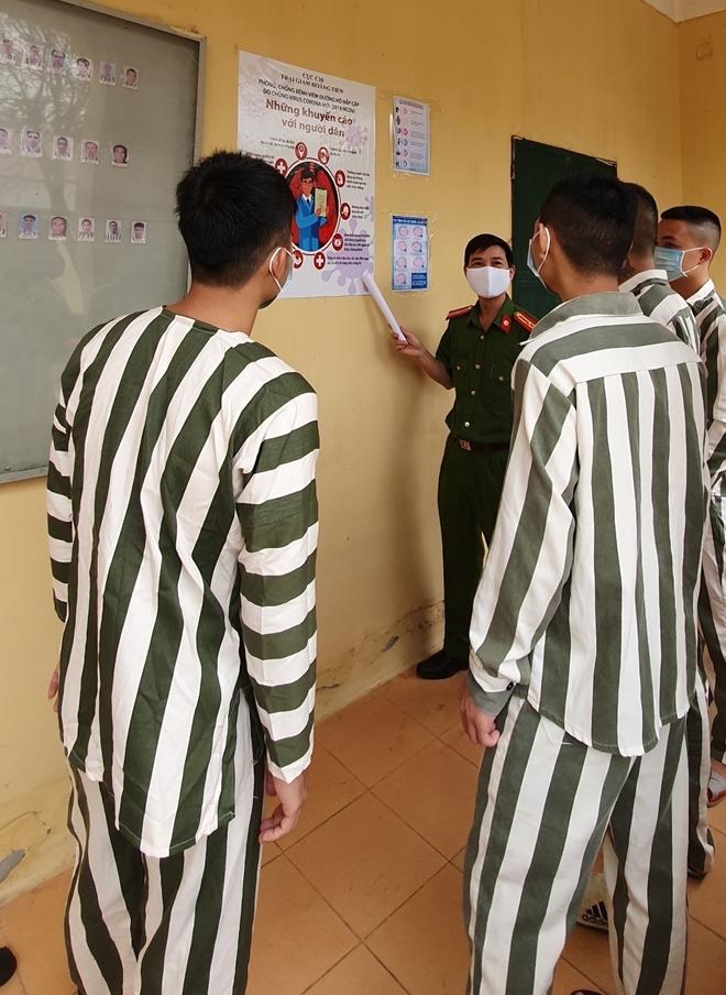 Phòng chống COVID-19 trong các cơ sở giam giữ - Ảnh minh hoạ 6