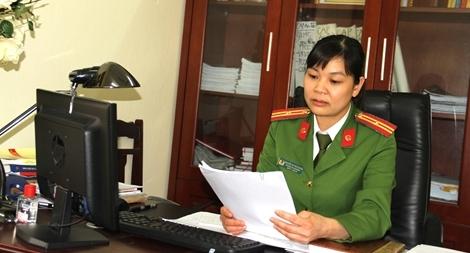 Nữ Trưởng Công an phường sâu sát địa bàn