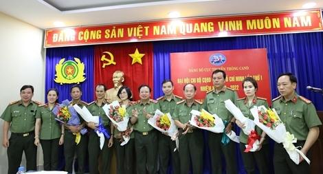Đại hội Chi bộ Cơ quan đại diện Cục Truyền thông CAND tại TP Hồ Chí Minh