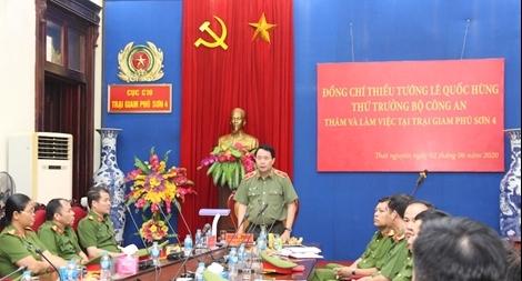 Trại giam Phú Sơn 4 làm tốt công tác quản lý, cải tạo, giáo dục phạm nhân