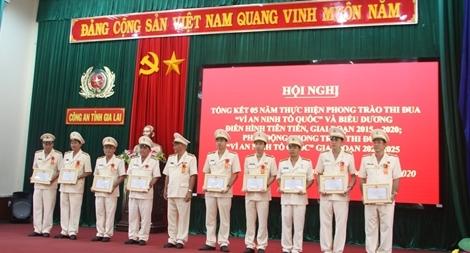 """Công an tỉnh Gia Lai tổ chức phát động phong trào thi đua """"Vì an ninh Tổ quốc"""""""