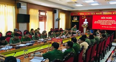 Thanh tra Bộ Công an thanh tra việc sử dụng đất an ninh trong lực lượng CAND