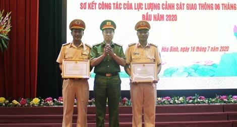 Công an tỉnh Hòa Bình sơ kết 6 tháng công tác đảm bảo TTATGT