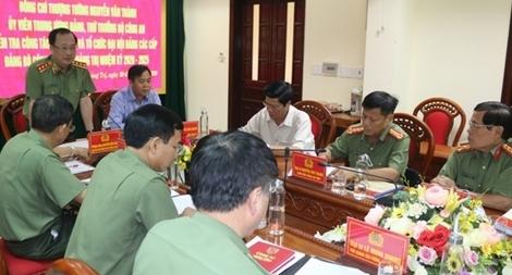Bảo đảm công tác chuẩn bị, tổ chức Đại hội Đảng các cấp tại Quảng Trị