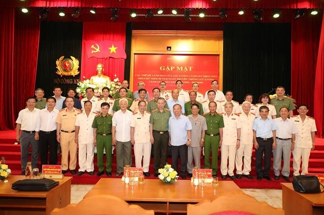 Bộ Công an gặp mặt các thế hệ lãnh đạo lực lượng CSND - Ảnh minh hoạ 2