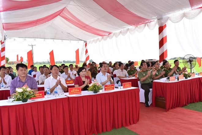 Khởi công xây dựng trụ sở Công an xã Yên Đồng - Ảnh minh hoạ 2